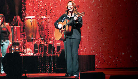 Gravação do DVD Multishow Ao Vivo Ana Carolina Dois Quartos