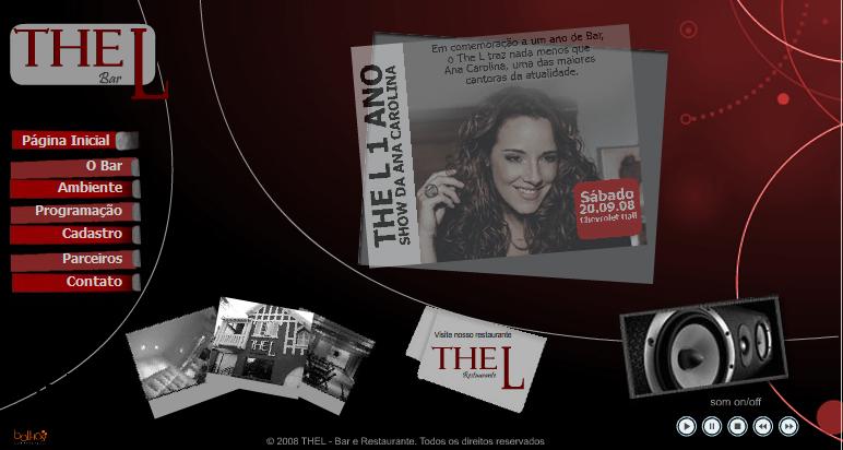 Clique na foto para conhecer o site do The L Bar