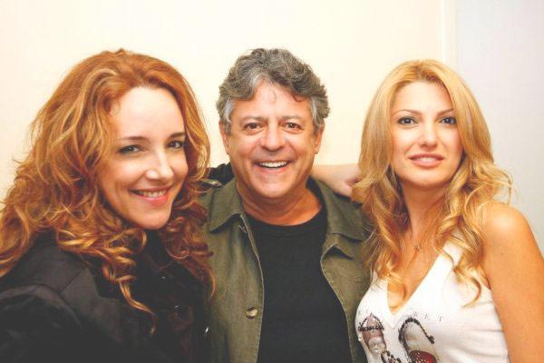 Ana Carolina, Marcos Paulo e Antônia Fontenelle