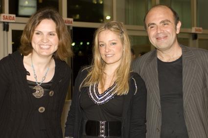 Samantha Monteiro, Luciana Vendramini e Caca Rosseti