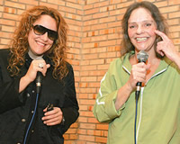 Ana Carolina e Ângela Rô Rô