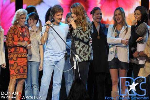 Ana Carolina e Roberto Carlos